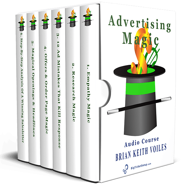 Best Copywriting Course Ad Magic By Brian Keith Voiles